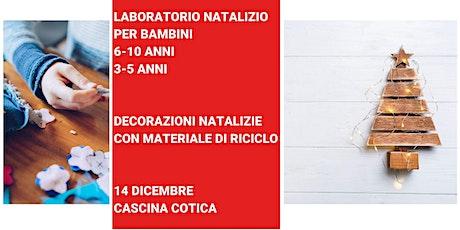Laboratorio per bambini 6- 10 anni. Decorazioni natalizie biglietti