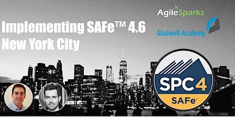 SAFe 4.6 w/ SPC Certification - New York City, December 2019 - Guaranteed to Run tickets