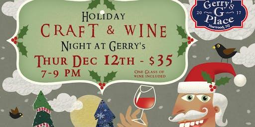 Christmas Wine & Craft Night