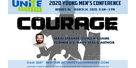 "2020 Unite Youth  Young Men's Conference  ""Courage"" tickets"