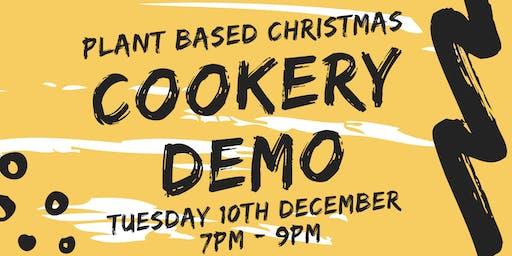 Plant Based Christmas Cookery Demo