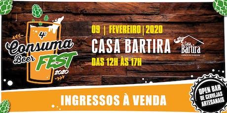4º CONSUMABEER FEST - 2020 - Cerveja sem frescura! tickets