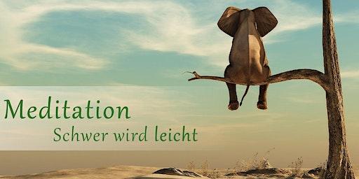 Meditation zum Kennenlernen Donnerstag 28.11.2019