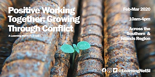 Positive Working Together – Growing Through Conflict (Redhill Methodist Church)