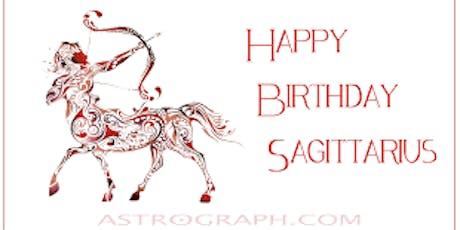 SAGITTARIUS BIRTHDAY MONTH SATURDAYS @SKYROOM ROOFTOP FREE DRINK TICKETS  tickets
