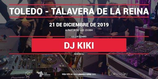 Sesión DJ Dj Kiki en Pause&Play Los Alfares