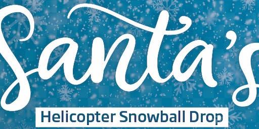 Santa Hot Air Balloon  Snowball Drop - Tuskawilla