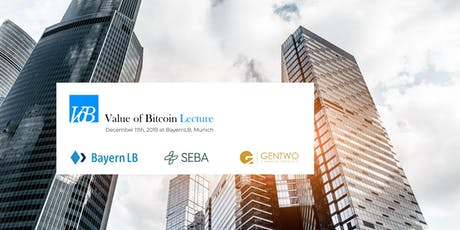 Value of Bitcoin Lecture - Bitcoin and Financial Institutions Tickets
