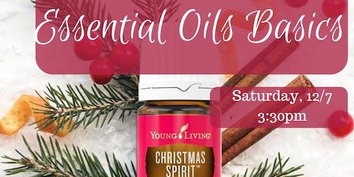 Holiday Wellness- Essential Oils Basics