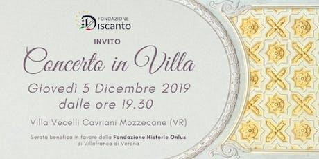 Concerto in Villa biglietti