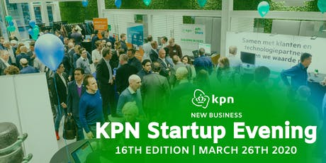 KPN Startup Evening - 16th Edition tickets