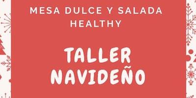 TALLER DE COMIDA SALUDABLE  ESPECIAL NAVIDAD