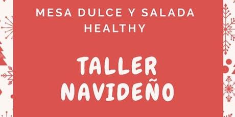 TALLER DE COMIDA SALUDABLE  ESPECIAL NAVIDAD entradas