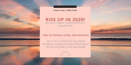 urban reset | NEW YEAR tickets