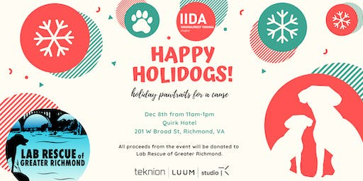 Happy Holidogs with Lab Rescue of Greater Richmond