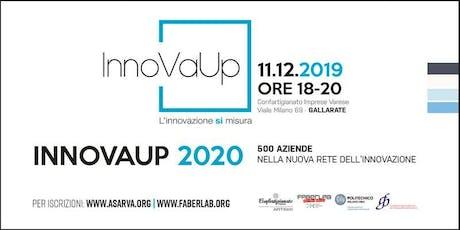 InnoVaUp 2020: 500 aziende nella nuova rete dell'innovazione tickets