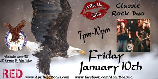 April Red debuts at the Palm Harbor Eagles 4408!