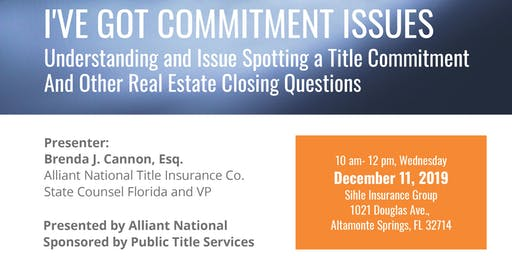 Commitment Issues: Understanding Title and Closing Questions