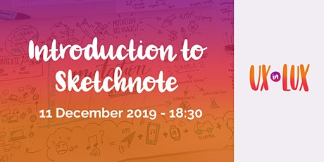 Introduction to Sketchnote tickets