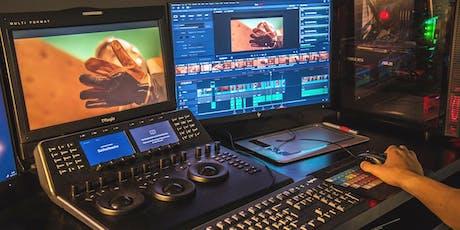 Open Class: Corrección de Color para Cine con Da Vinci Resolve entradas