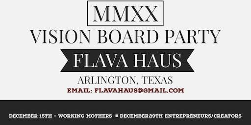 MMXX VISION BOARD WORKSHOP- Entrepreneurs/Creators