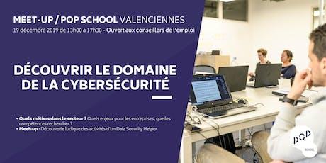 Meet-up POP School : Découvrir le domaine de la cybersécurité billets