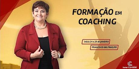 Formação em Coaching método Ione Cortese ingressos