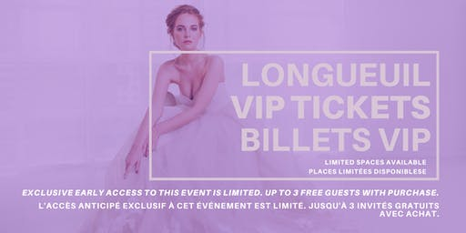 Opportunity Bridal VIP Early Access Longueuil Pop Up Wedding Dress Sale