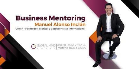 Business Mentoring con Manuel Alonso Inclán entradas