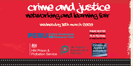 Crime and Justice Networking and Learning Fair tickets