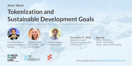 After-Work Tokenization and Sustainable Development Goals tickets