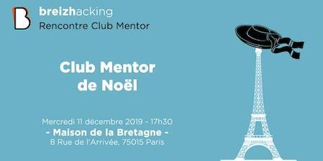 Club Mentor - Décembre tickets
