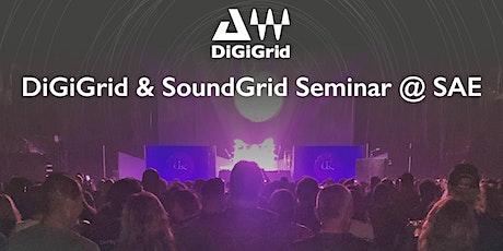 DiGiGrid & SoundGrid Seminar Tickets