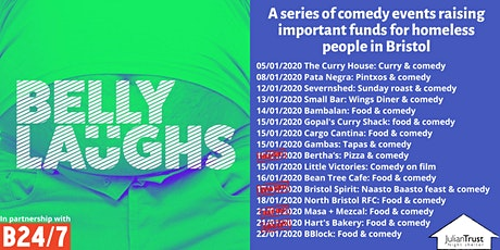 Belly Laughs with Bristol24/7 at The Curry House: food and comedy tickets