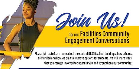 Facilities Community Engagement Conversation tickets