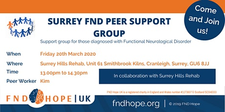 Surrey FND Peer Support Group tickets