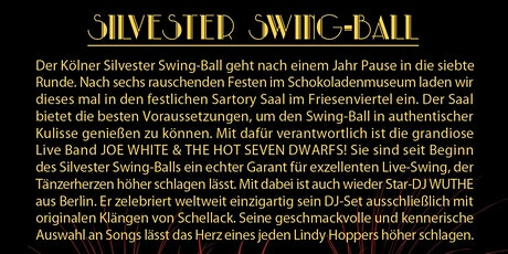 Silvester Swing Ball Tickets