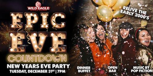 Epic Eve Countdown NYE with Wild Eagle Steak & Saloon