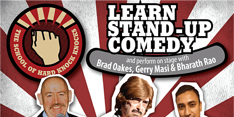 Learn stand-up comedy in Melbourne this January with Gerry Masi tickets