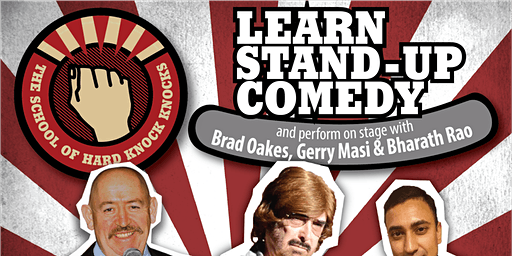 Learn stand-up comedy in Melbourne this January with Gerry Masi