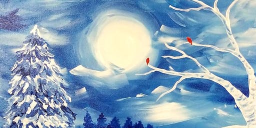Winter Snow, Paint and WineEvent