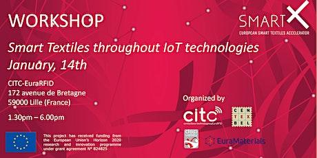 Workshop SmartX - Smart textiles throughout IoT technologies tickets