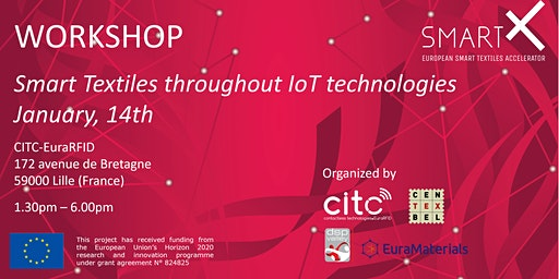 Workshop SmartX - Smart textiles throughout IoT technologies