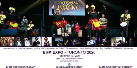 National BHM Expo - Toronto  2020 tickets