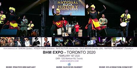 National BHM Expo - Toronto  2020 tickets