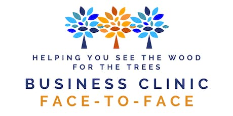 Business Clinic - FACE-TO-FACE tickets