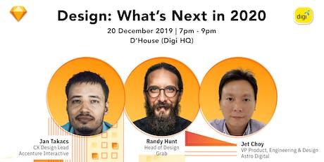 Design: What's Next in 2020 tickets