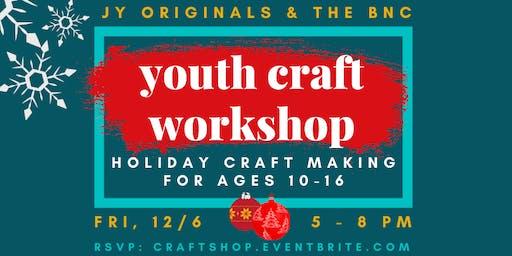 Holiday craft making workshop