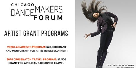 Chicago Dancemakers Grant Info Session at J e l l o tickets