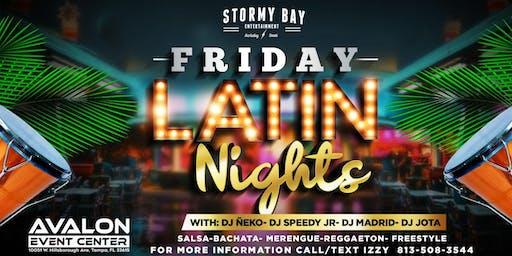 Friday Latin Night at Avalon